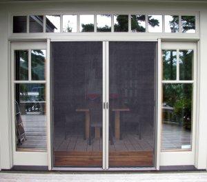 Retractable Screen Doors for Large Doorways